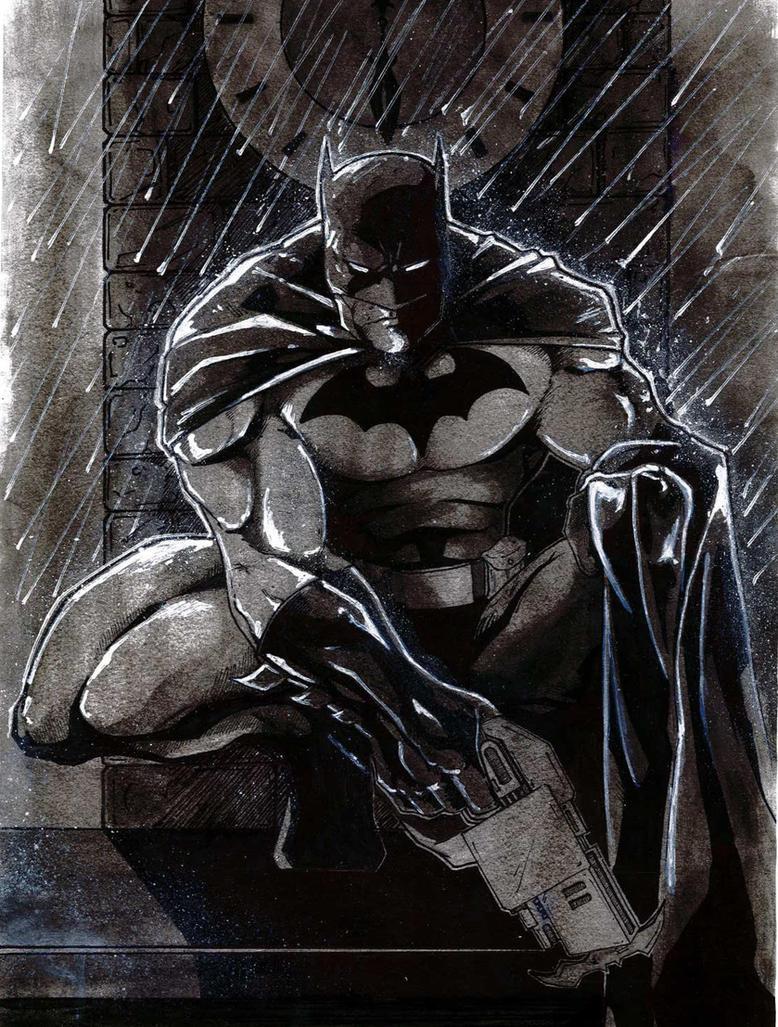 Batman by jonathan-munro