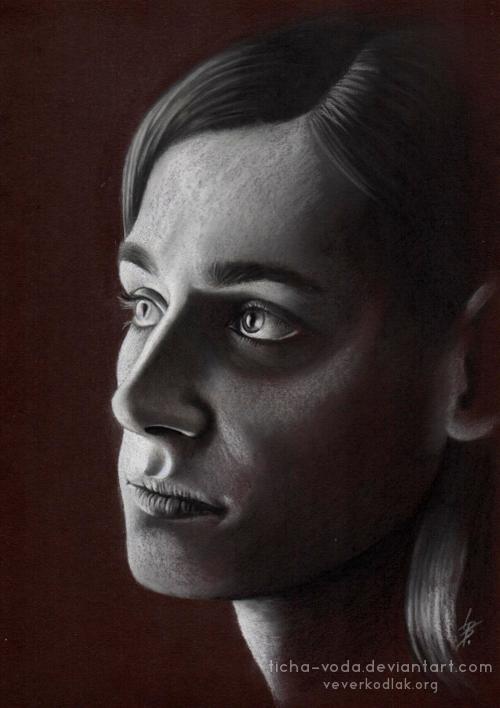 Alvir - pastel portrait by Ticha-Voda