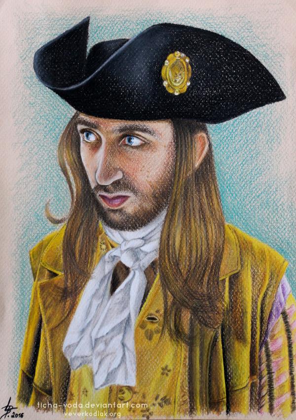 Adam - portrait by Ticha-Voda