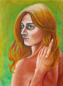 Alvir - portrait of the Muse