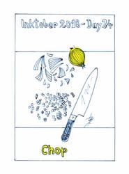 Inktober2018_24 - Chop by Ticha-Voda