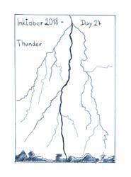 Inktober2018_27 - Thunder by Ticha-Voda