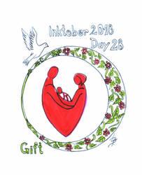 Inktober2018_28 - Gift by Ticha-Voda