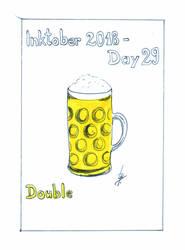 Inktober2018_29 - Double by Ticha-Voda