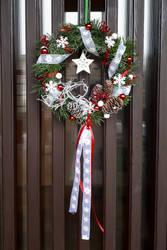 Door advent wreath by Ticha-Voda