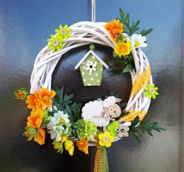 Spring wreath 1 by Ticha-Voda