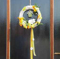Spring wreath 2 by Ticha-Voda