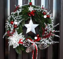 Door Advent wreath 2019