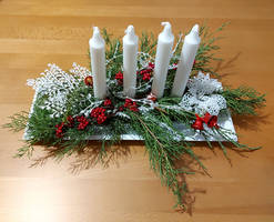 Advent candle holder 2020