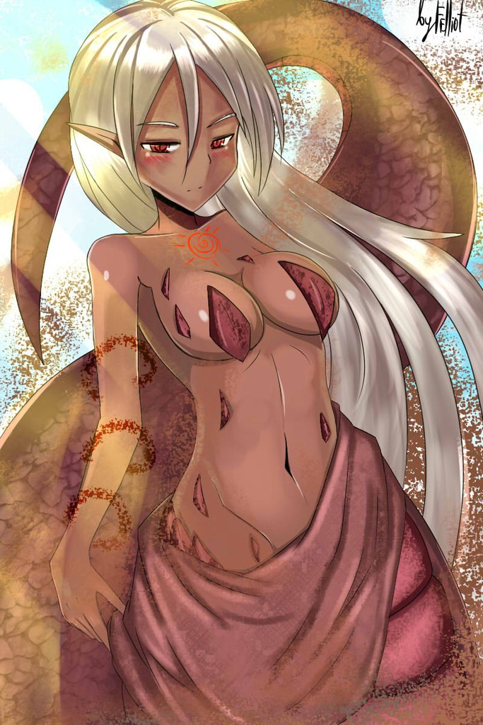 from Jesus sexy lamia the snake woman