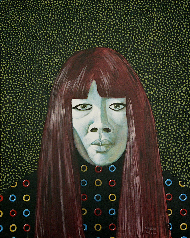 Yayoi Kusama by JimmyMcCullough