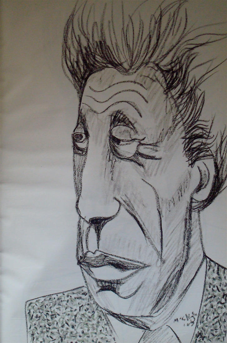 Alberto Giacometti drawing 1 by JimmyMcCullough on DeviantArt