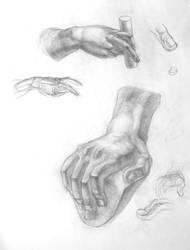 academic drawing. hand drawing