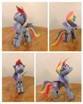 Rainbow Dash Papercraft
