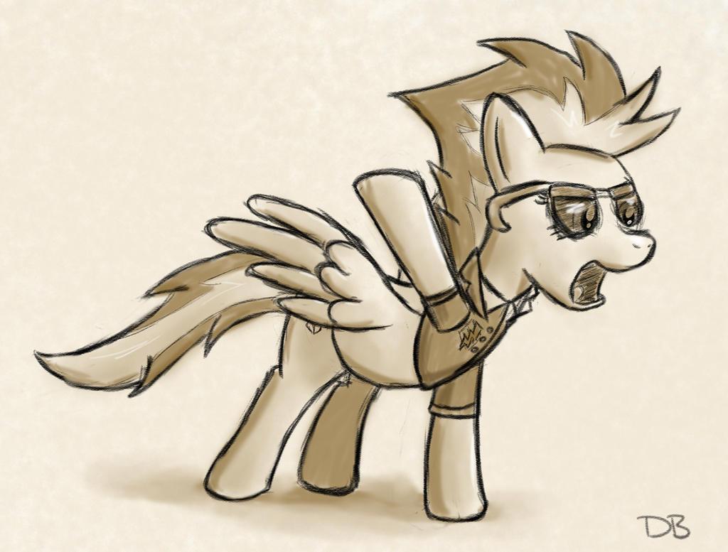 Pony in Command by WerdKcub