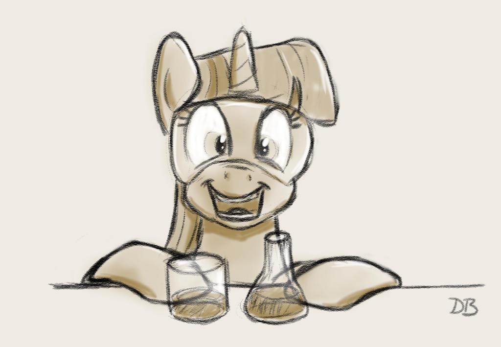Science Pony by WerdKcub
