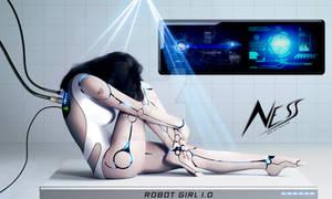 Cyborg Girl - Robot