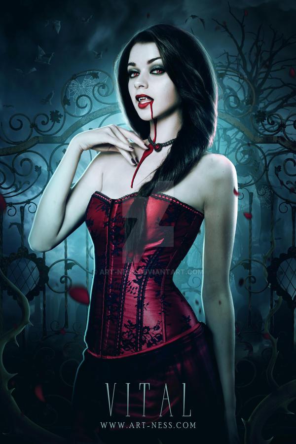 A Vampire Girl