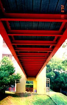 Under the Red Bridge