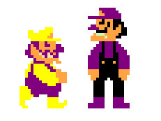 Super Wario Bros. by Superblade