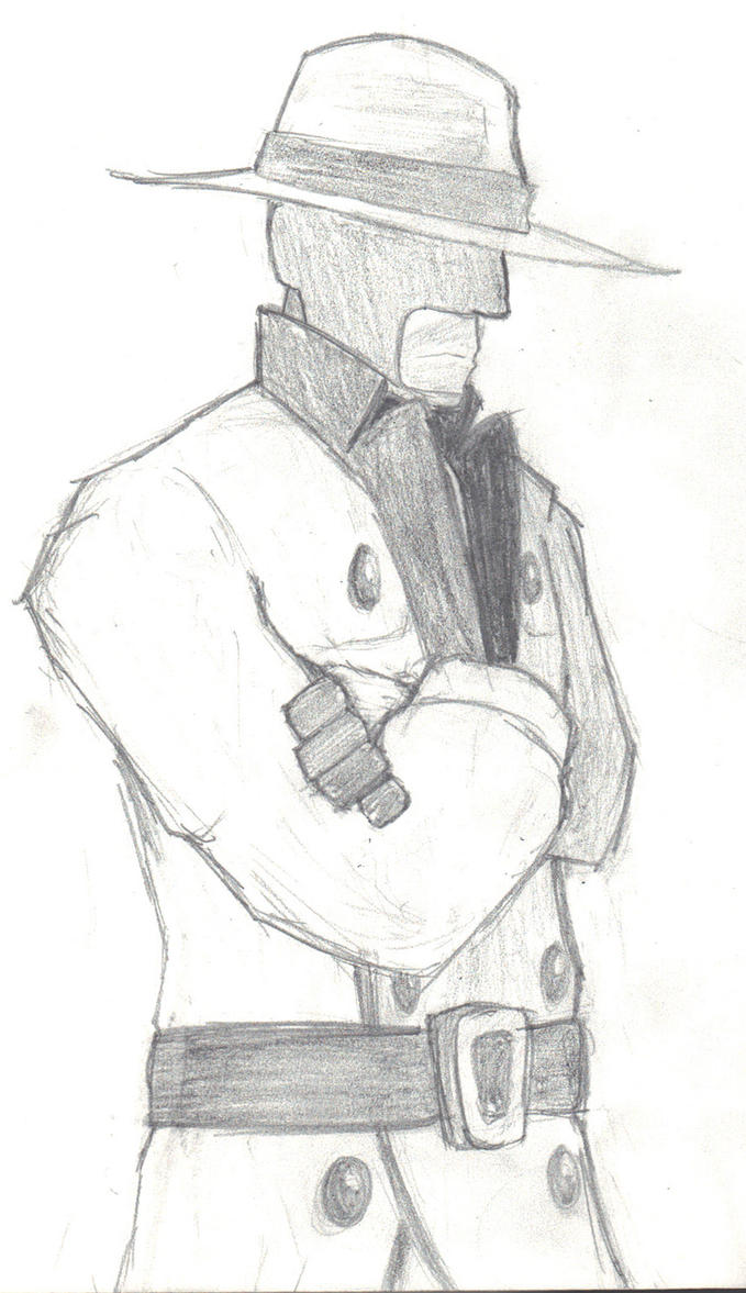 Spy and his Hat To Kill For and Chicago Overcoat by Psyche-Clops