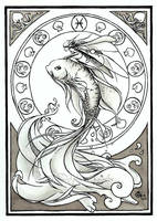Pisces by delfee