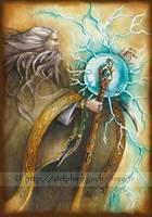 Merlin the enchanter by delfee