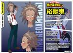 [BnHA] OC Profile - Kedamonoki Hiro