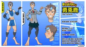 [BnHA] OC Profile - Tsushika Yuu by PenelopeJadewing