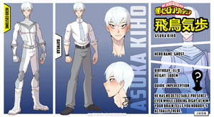 [BnHA] OC Profile - Kiho Asuka