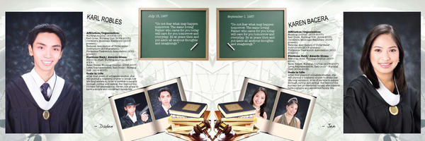Yearbook Inside page by Kit2Kulit on DeviantArt