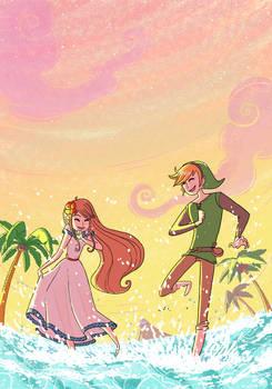 Marin and Link by yllya