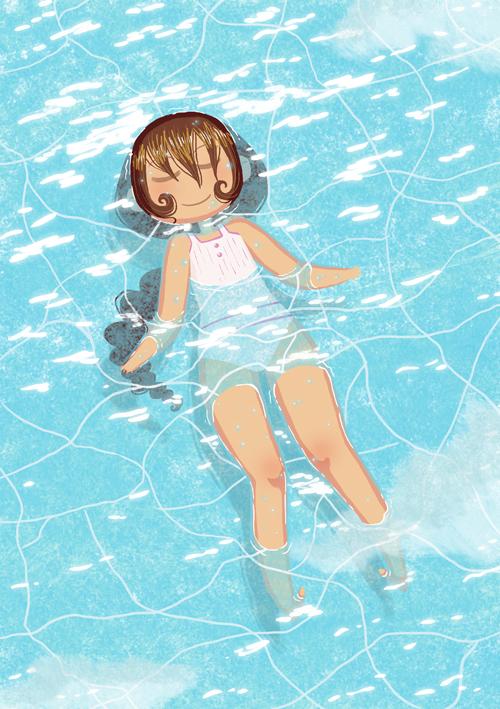 Floating by yllya