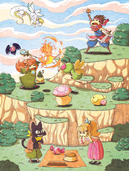 Secret of mana-Fanart