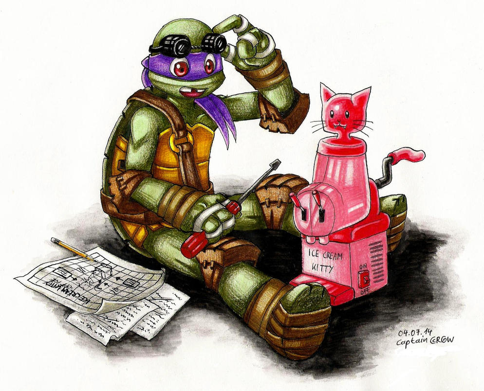 Donatello by Captain--Ruffy