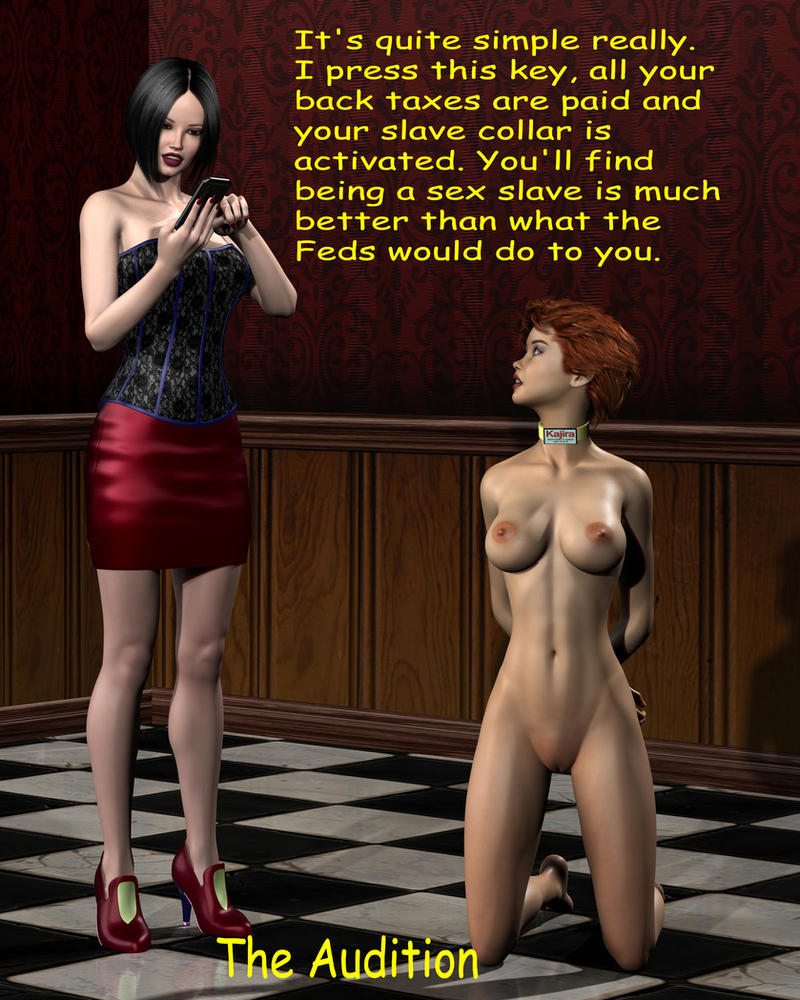 Slave Audition by fred1009-a by fred1009