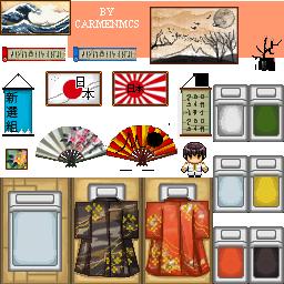 World Pixels - JAPAN 01 by CarmenMCS