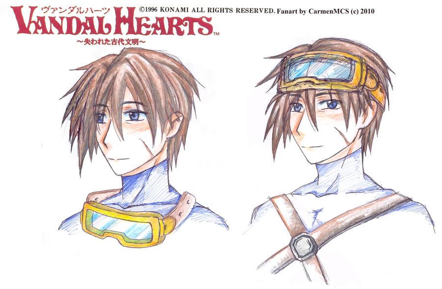 Vandal Hearts - Amon sketch by CarmenMCS