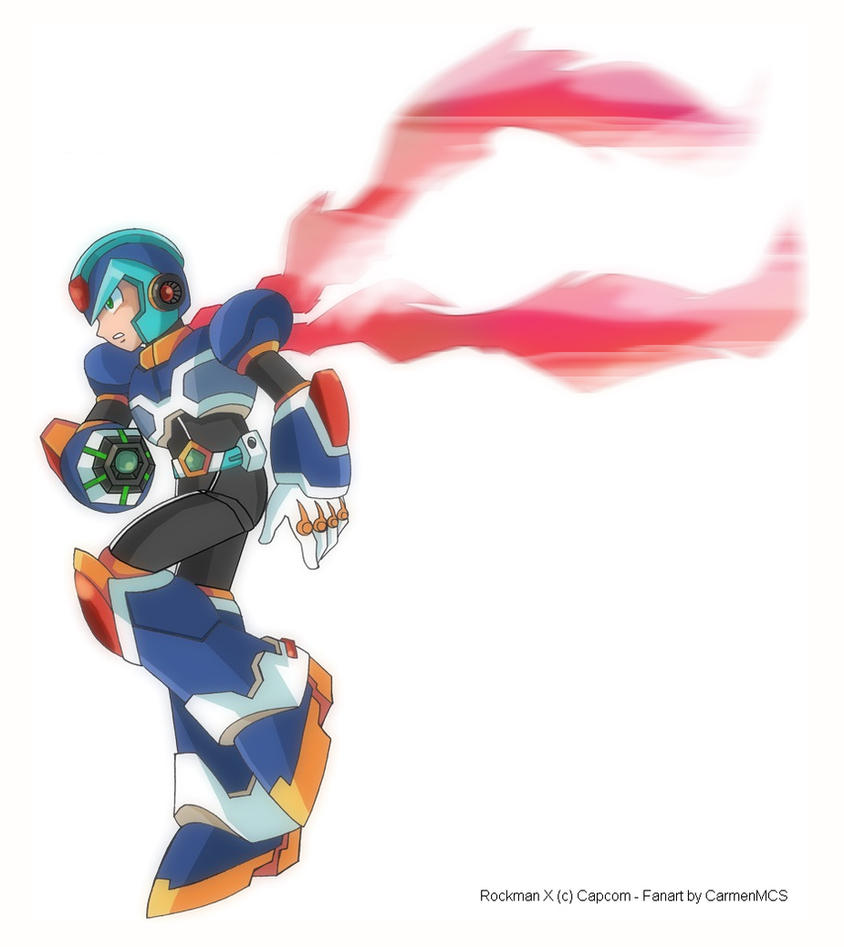 Megaman x by carmenmcs on deviantart for Mission exe