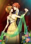 Persona 4 - Yosuke and Chie