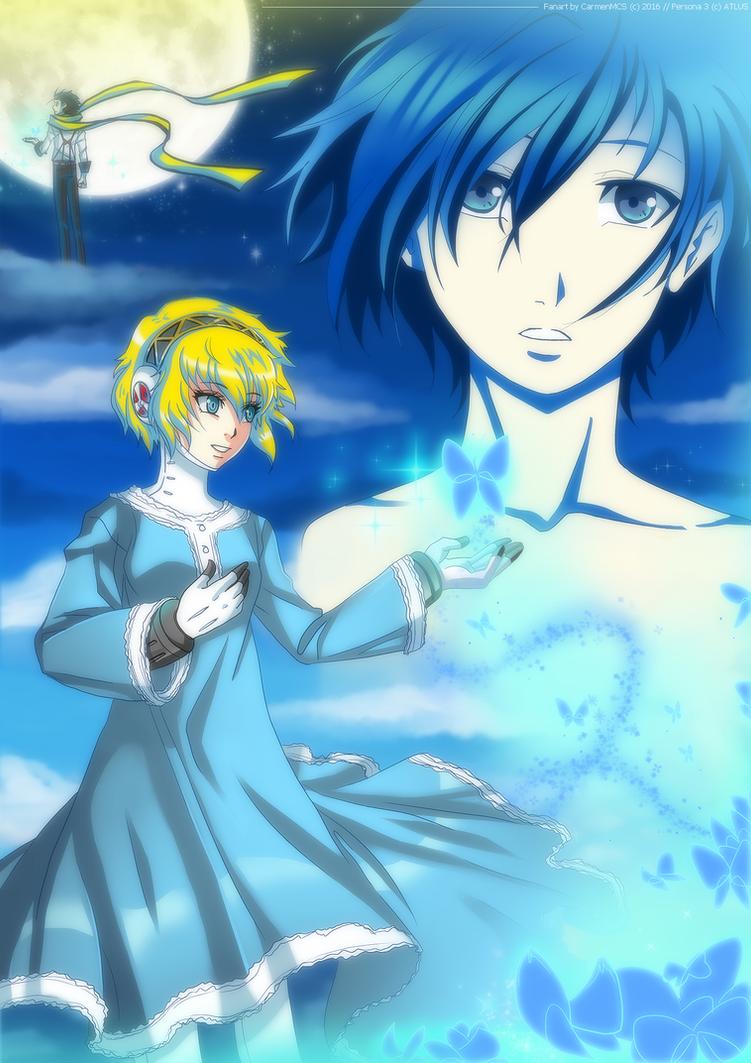 Persona 3 - BLUE by CarmenMCS