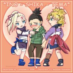 INO-SHIKA-TEMA X3 by CarmenMCS