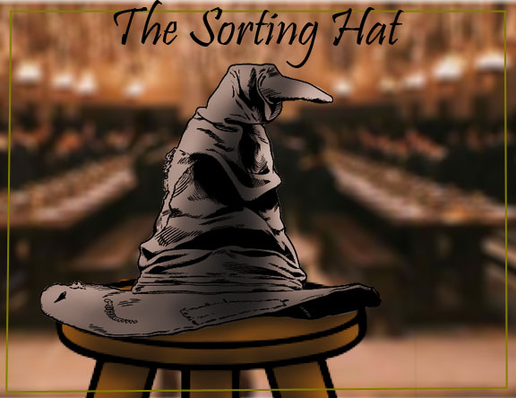 how to draw the sorting hat