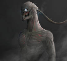 Augmented War Human by NicholasOsagie