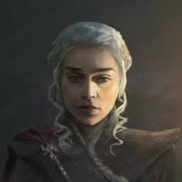 Daenerys Targaryen. by NicholasOsagie