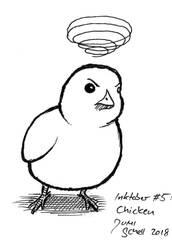 Inktober 2018 #5 Chicken