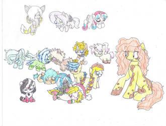 Foalsitting?! 3 by Luigilady95