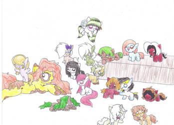 Foalsitting?! 4 by Luigilady95