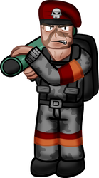 Team Fortress Classic: Soldier (shaded?) by Spat856