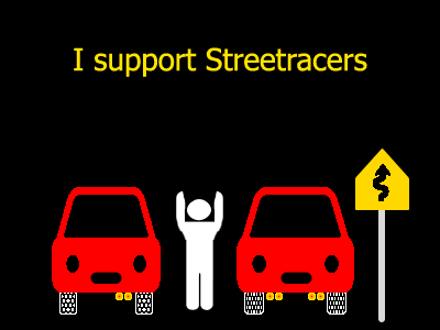I support Streetracing by VashSystems
